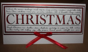 Woodware Christmas Card Craft Ideas |Project 1 @ Craft-House