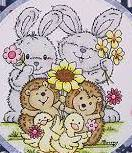Stampavie Stamps - Flower Friends