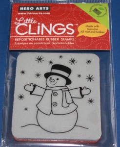 Hero Arts 'Let it Snow' Christmas Cling Craft Stamp @ Craft-House