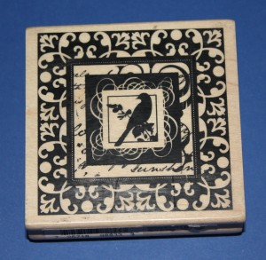 Inkadinkado 'Ornate Bird Frame' Craft Stamp @ Craft-House