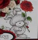 Stampavie Stamps - Rosie Rabbit