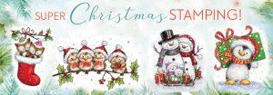 Wild Rose Studio - new Christmas 2016 Stamps